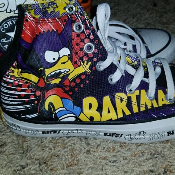 594f5ad81723 Converse Shoes - Batman Bart Simpson Converse